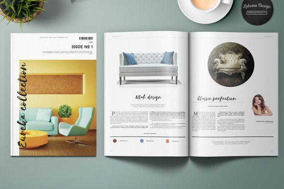 Eureka Product Catalog by Kahuna Design on @creativemarket