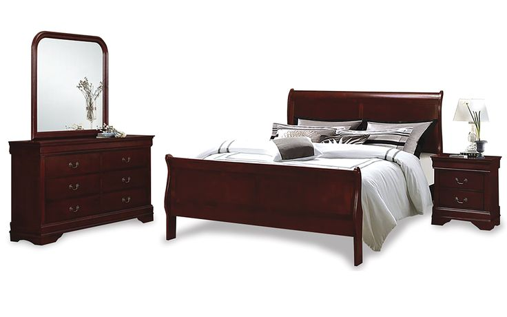 Take a look at this great Louis Phillipe Sleigh Bedroom Suite I found at UFO!