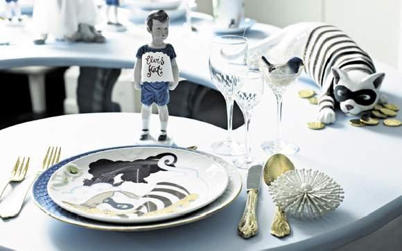 Shane Brox Children's Dinnerware for Royal Copenhagen.