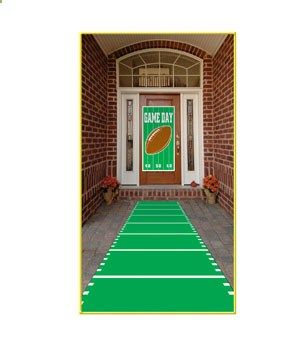 Sports Field Runner-10ft. This set up is awesome for a #football #game day #party!