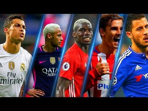Best Football Skills Mix 2017 ● Ronaldo ● Neymar ● Pogba ● Griezmann ● Hazard | Part 1  -  chadatube