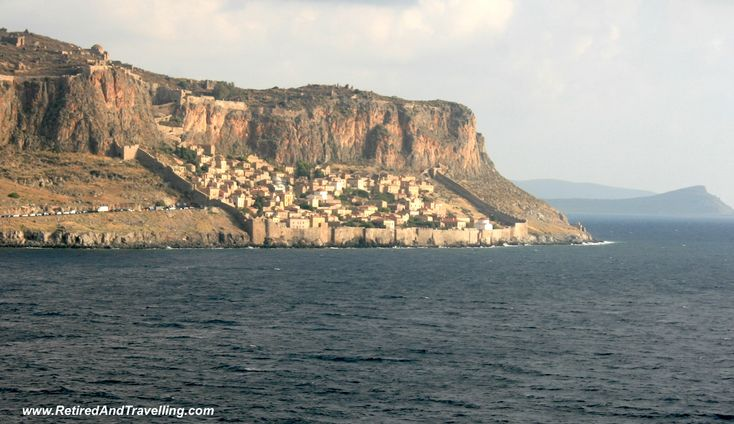 The fortress below the hill in Monemvasia was a great surprise!
