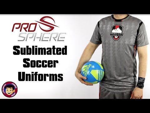 Sublimated Soccer Jerseys & Shorts | Design Custom Prosphere Soccer Uniforms