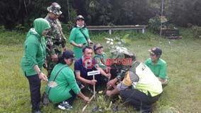 Kodim Bangli Tanam Ribuan Pohon - http://denpostnews.com/2017/12/13/kodim-bangli-tanam-ribuan-pohon/
