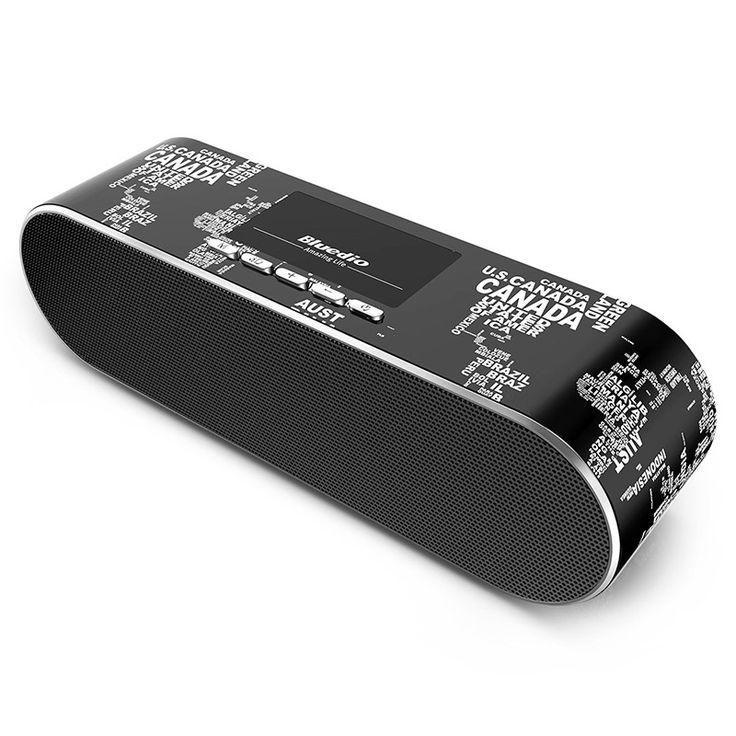 Bluedio AS Mini WIFI /Bluetooth speaker Portable Wireless…