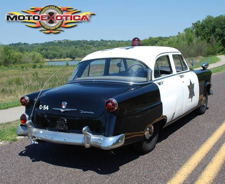 1954 Ford Police Car For Sale in St. Louis, Missouri | Old Car Online