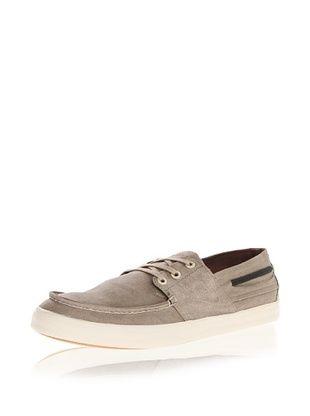 71% OFF Tretorn Otto Wax Canvas Boat Shoe Sneaker (Dune Brown)