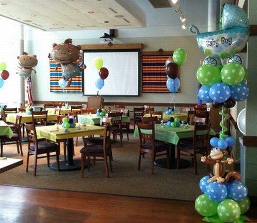 theme baby shower brown shower ideas and monkey themed baby shower