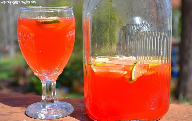 Cherry Limeade 2-liter bottle of lemon lime soda 3/4 cup fresh ...