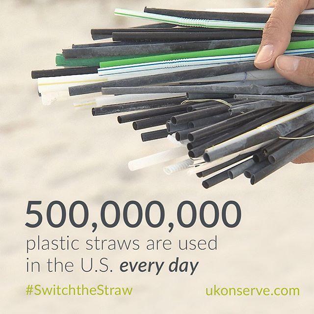 Crazy.  #switchthestraw #makeasplash #nostraws #nostrawplease #plasticpollution #plasticfree #skipthestraw #strawfree #strawssuck #reusablestraw #1lessstraw