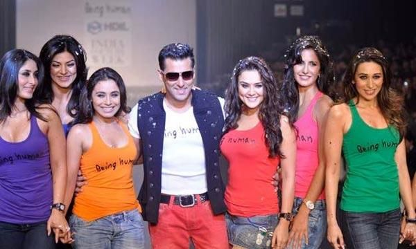 Bollywood divas promotes Salman Khans Being Human brand
