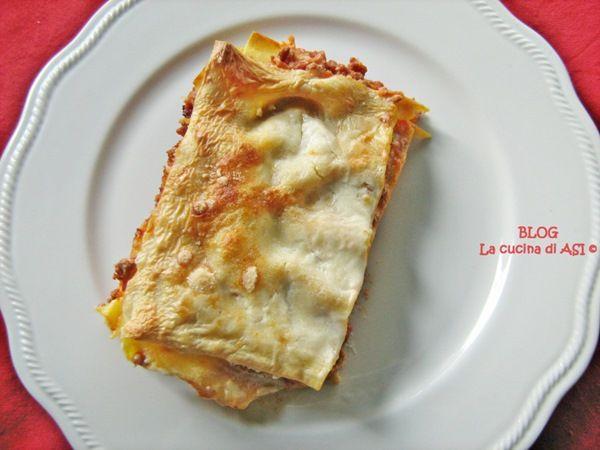 Cosa c'è di più buono di un bel piatto di lasagne con ottimo ragù e una cremosa besciamella?? beh direi ben poco e con questo articolo prepariamo insieme questo piatto