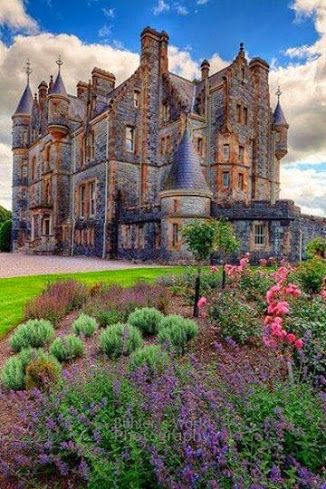 Blarney House, County Cork, Ireland.