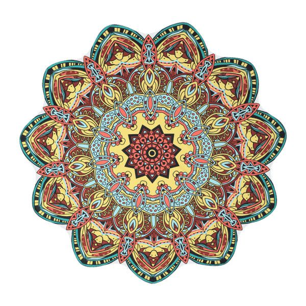 Mandala Printed Beach Throw ($17) ❤ liked on Polyvore featuring home, bed & bath, bedding, blankets, mandala throw, mandala throw blanket, mandala bedding and mandala blanket