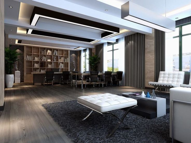 Modern Ceo Office Design Ceiling