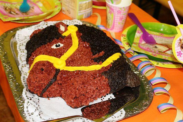 Kuchen F 252 R Den Kindergeburtstag Pferdekopf Rezepte