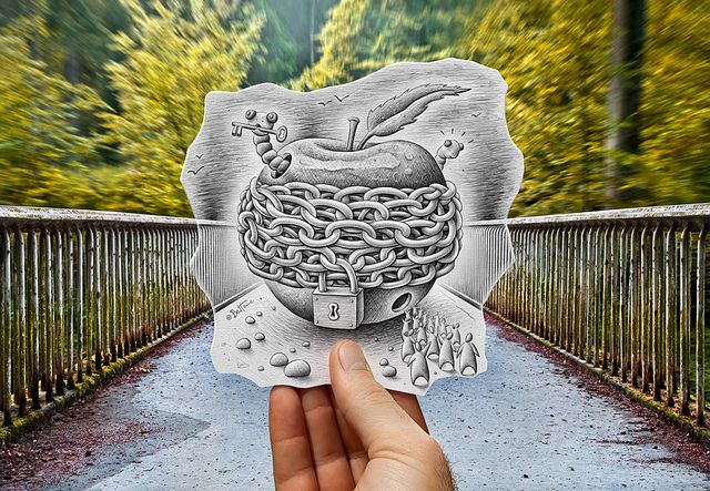 Pencil Vs Camera - 70 by Ben Heine, via Flickr