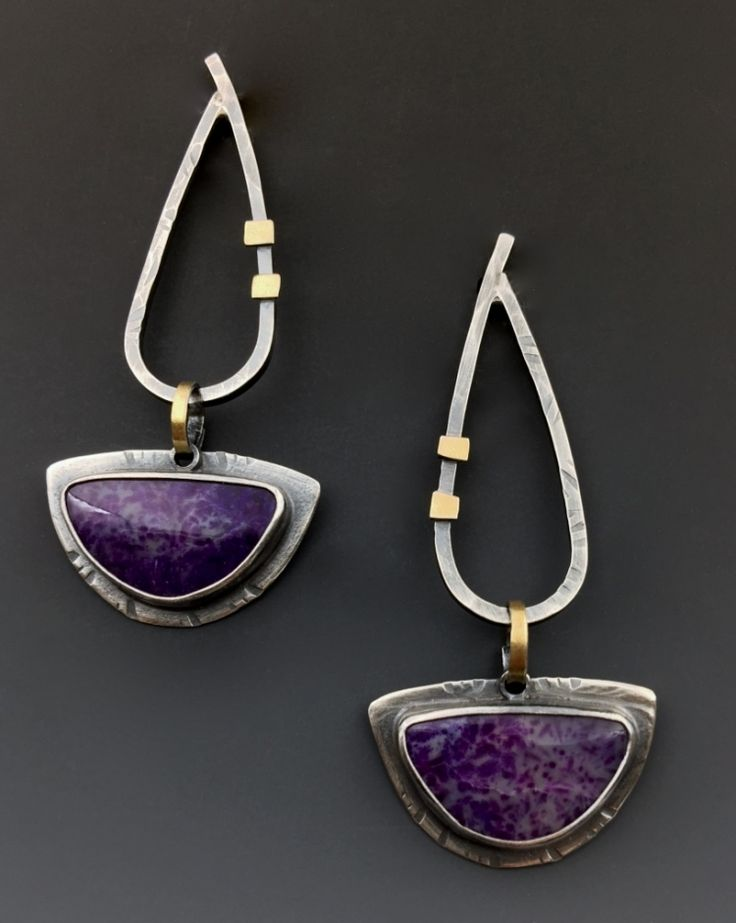Sugelite Earrings