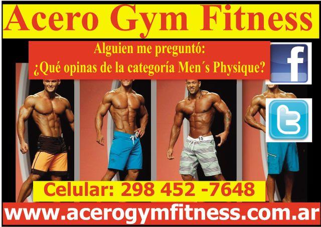 Alguien me preguntó: ¿Qué opinas de la categoría Men´s Physique? - http://acerogymfitness.com.ar/consejos-y-tips-de-un-tal-chris-personal-trainer/alguien-me-pregunto-que-opinas-de-la-categoria-mens-physique/