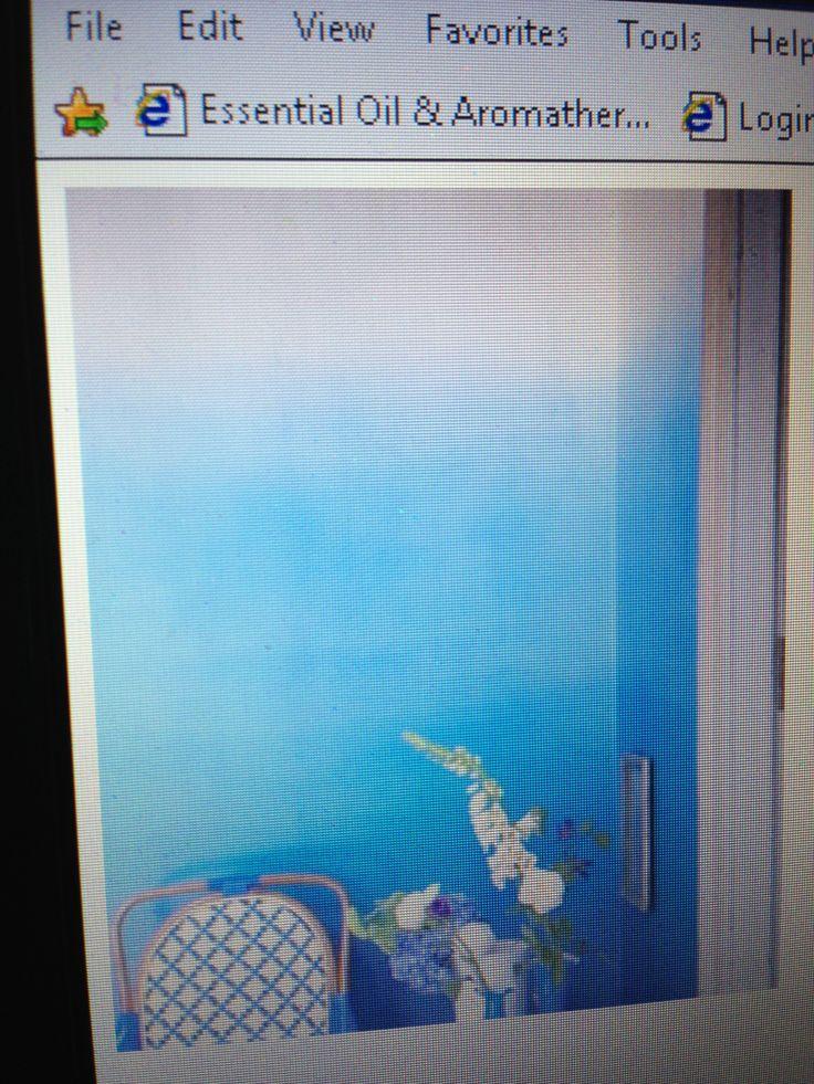 Ombr Wall Paint Technique Salon Ideas Pinterest