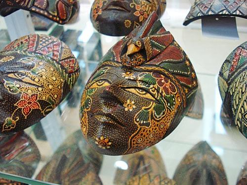 Indonesian Batik Mask