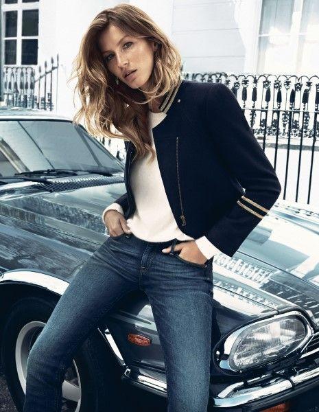Topmodel Gisele Bündchen is het nieuwe gezicht van de herfstcollectie van H&M. De Braziliaanse schone schittert in gezellig warme sweaters, ...