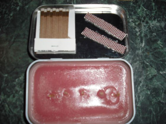 Picture of Altoids Tin Emergency Candle