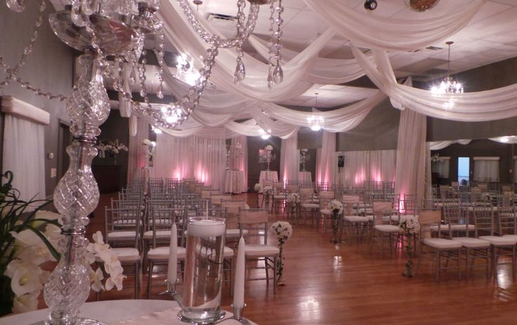 Indoor Wedding Venue Orlando Florida Chiavari Chairs The Crystal Ballroom