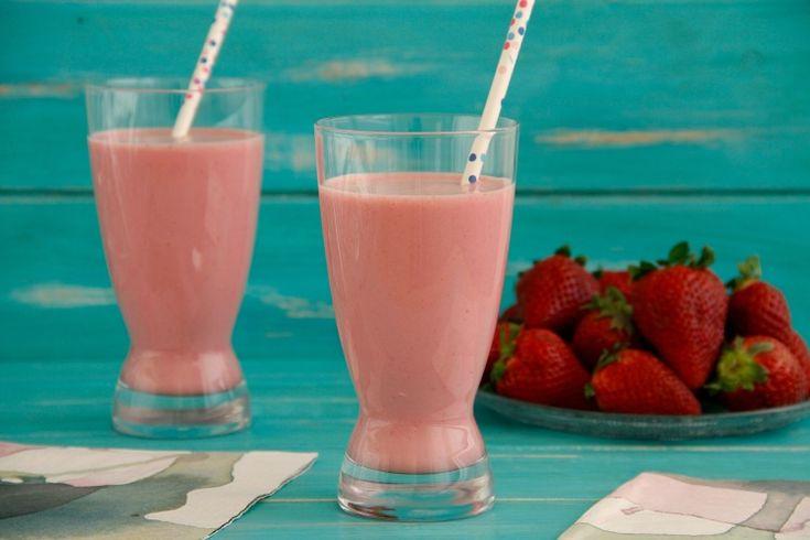 Batido de fresas » Recetas Thermomix   MisThermorecetas
