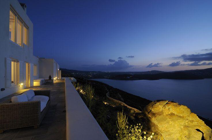 Buenas noches! Love blue&white by thesuites MYKONOS #summer #holidays #design #escape #greece #mykonos #thesuites #nohotels