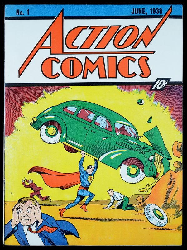 the first superman comic - Yahoo Image Search Results