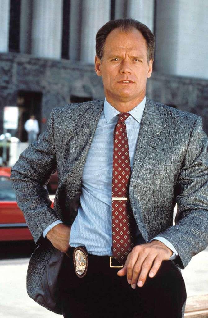 Fred Dryer / Former NFL defensive end, TV star.