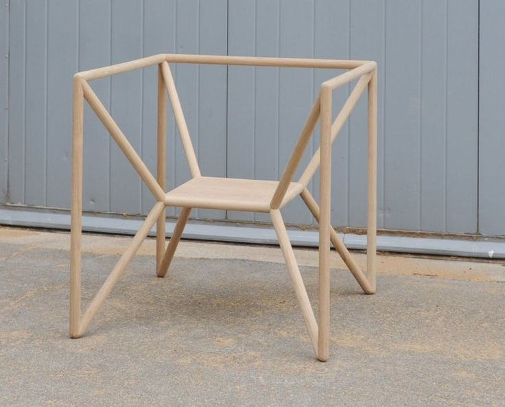 This unique looking chair designed by Thomas Feichtnerfor Vienna Design Week 2011