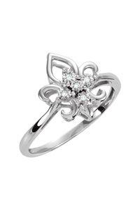 #Sterling #Silver #Diamond #Fleur-de-Lis #Ring $119.00 http://www.celebrateyourfaith.com/Sterling-Silver-Diamond-Fleur--P14042C664.cfm