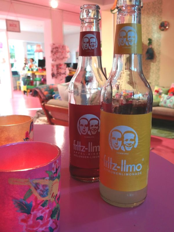 Limonade, Rice showroom Hamburg
