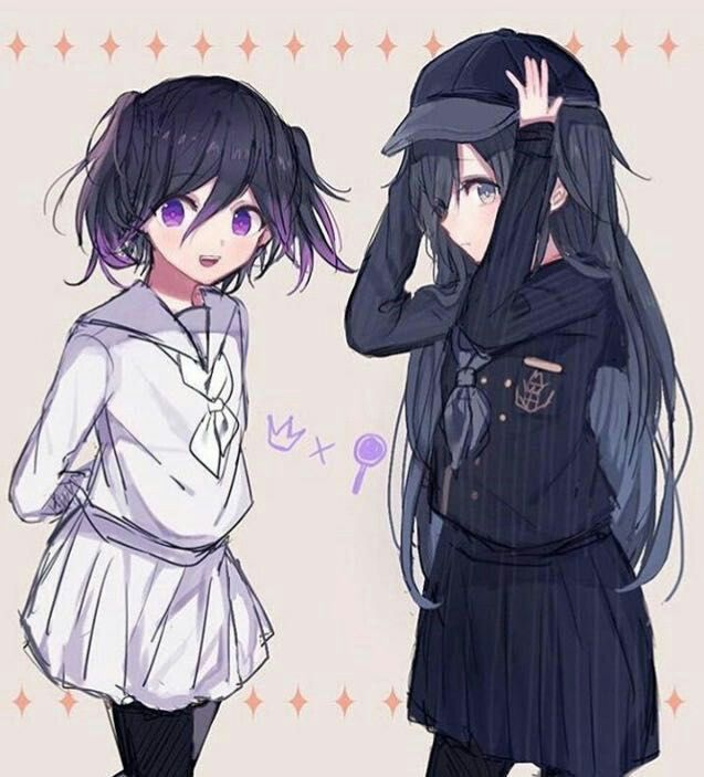 Shuichi Saihara and Kokichi Ouma Gender Switch   Danganronpa   Anime