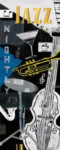 Jazz Nightly Prints by Katherine & Elizabeth Pope at AllPosters.com