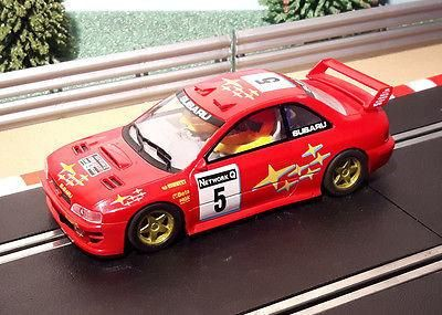 For sale Scalextric 1:32 C... One careful owner! Browse here http://www.actionslotracing.co.uk/products/scalextric-1-32-car-red-subaru-impreza-wrc-5?utm_campaign=social_autopilot&utm_source=pin&utm_medium=pin