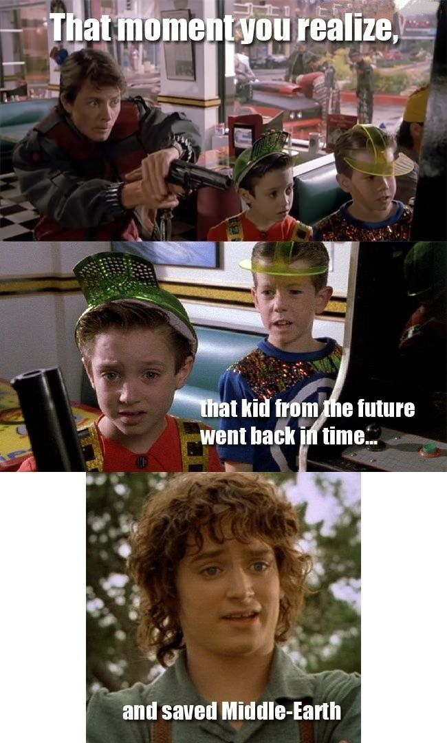 Back to the Future, LOTR