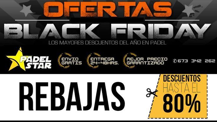 ¿Estás Ahorrando y Preparado para el Black Friday? Las Mejores OFERTAS de Pádel llegan el 25 de Noviembre con el BLACK FRIDAY de Pádel ¿Estás preparad@?