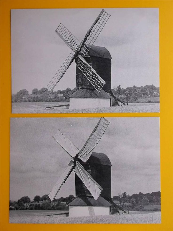 PITSTONE WINDMILL Ivinghoe Buckinghamshire Postcards *ALL SCANNED* c1970s