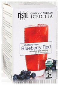 Rishi Tea (More from Rishi Tea)  Organic Blueberry Red Iced Tea