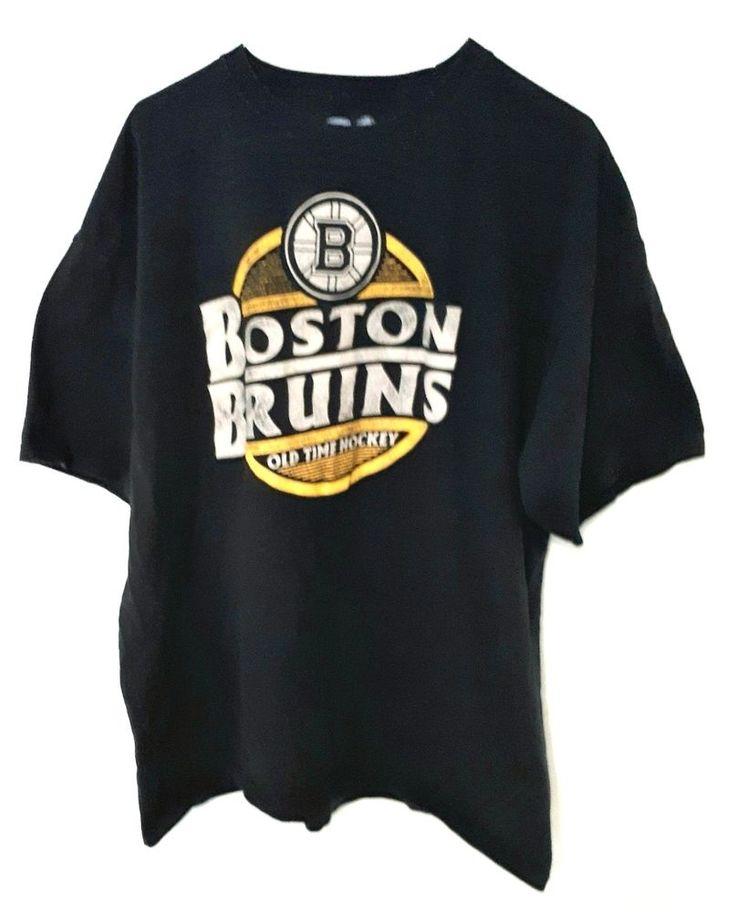 Boston Bruins NHL OTH  Old-Time Hockey Men s T-Shirt - XXL Distressed Logo | eBay