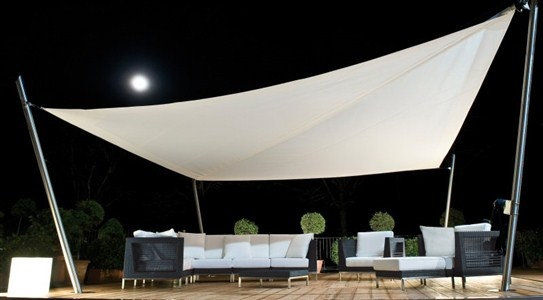 Corradi outdoor living space.  Furnish with taste and technical outdoor spaces is the latest trend in the furniture industry and Padovani, who has anticipated for years, could not fail to emphasize this important part of modern living.