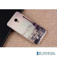 """Силиконовый чехол для Meizu M3e, """"Эйфелева башня"""""""
