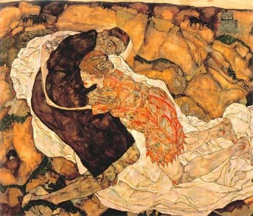 Egon Schiele - Death and the Maiden
