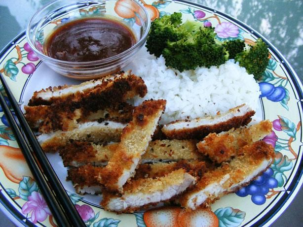 Japanese Pork Katsu: Just made, easy, family loved it especially with the Katsu Sauce that is a good replication of our favorite restaurant.