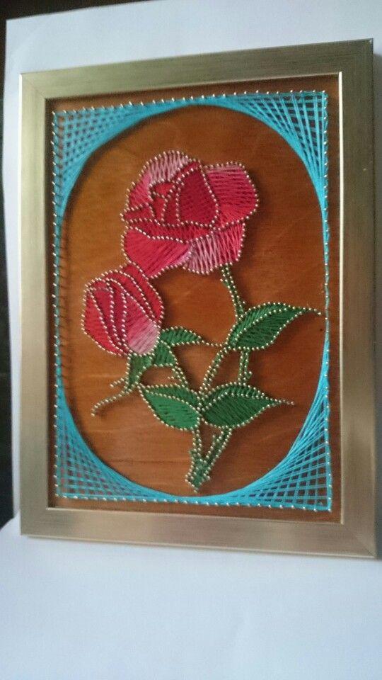 Róże(816 gwoździ)