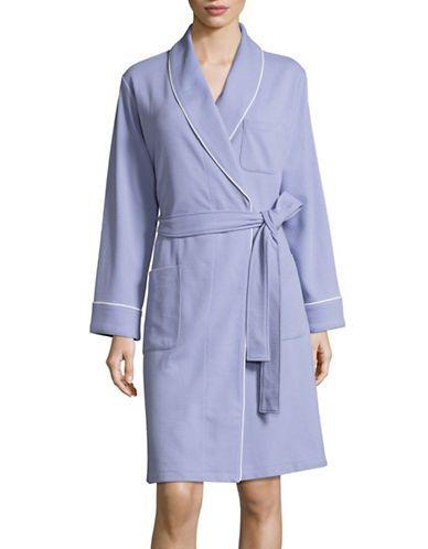 LORD & TAYLORWaffle-Knit Robe