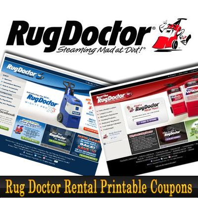 Rug Doctor Coupons. Rug Doctor is an online store that sells quality carpet cleaners for housewives. Carpet cleaners rental is also available here. It also offer a Rug Doctor coupon $10 off on select models. Save more with the lastest Rug Doctor coupon and coupon code below.